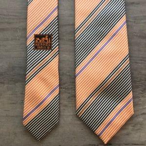 Hermès Paris 100% Silk Necktie